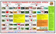 GUIDE TO VENOMOUS SNAKES OF SOUTHERN AFRICA preview